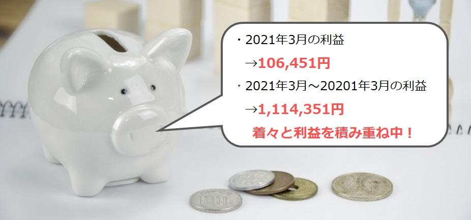 運用実績_2021年3月